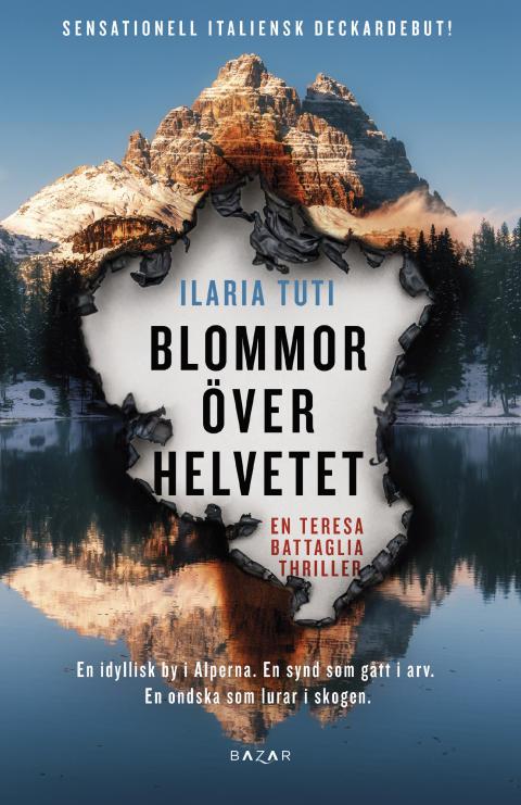 Högupplöst framsidesbild Blommor över helvetet av Ilaria Tuti
