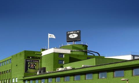 Zoégas rosteri –en grön fabrik i dubbel bemärkelse