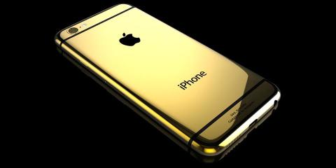 Gold iPhone 6 for Harmonie-Rose