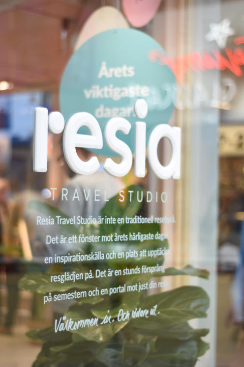 Kungsmässan först ut när Resia förvandlar resebyrån till studio