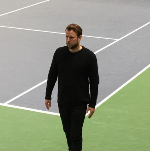 Fredrik blev intervjuad om hur man kan träna tanken i tennis
