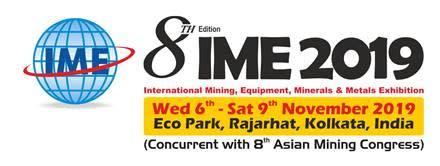 IME 2019, 6-9 November, Rajarhat, Kolkata, India