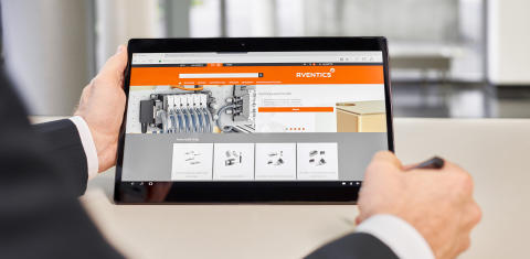 Smart, kompakt og intuitiv: The Aventics Online World