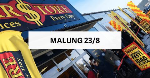 Öppningsfest - DollarStore Malung