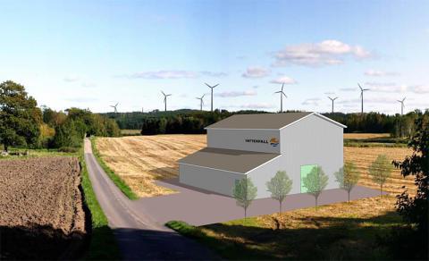Vattenfall väljer Siemens nyutvecklade koncept till planerad vindkraft