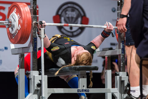 EM i styrkelyft till Helsingborg 2018