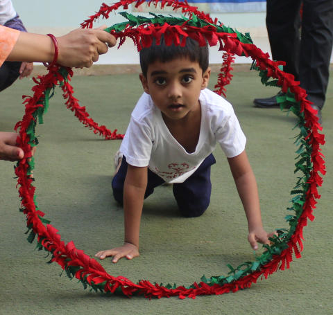 Taastrups børn støtter flygtningebørns muligheder for at lege