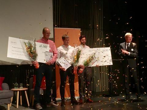 Ny kateter och hybrid-smartklocka vann SKAPA-priset 2017 i Uppsala län