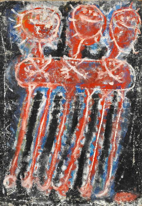 Jan Křížek: Untitled, 1957.