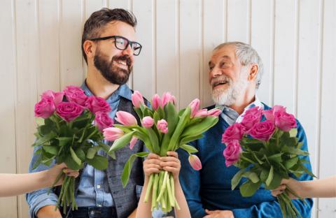 Yllätä isä kasvein ja kukkasin!