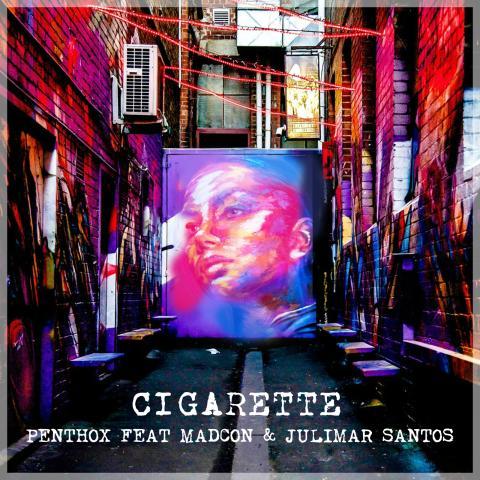 """18-åriga Penthox släpper singeln """"Cigarette"""" tillsammans med Grammisvinnaren Madcon"""