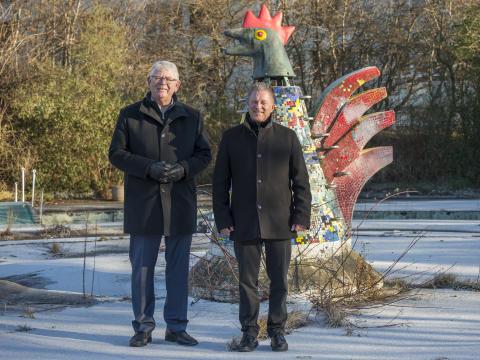 Trafiklegepladsen med hønen