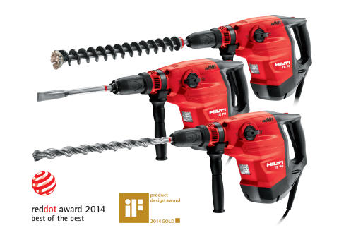 Ny Hilti-produkt får designpris – Red Dot Design Award
