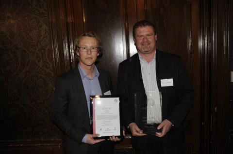 Nordnav och KYAB fick pris på 10-årsjubileum