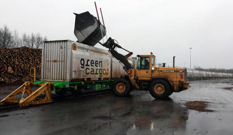 Mellanskog ställer om till klimatsmarta transporter med Green Cargo