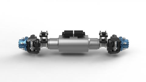BPW eTransport electric drive axle