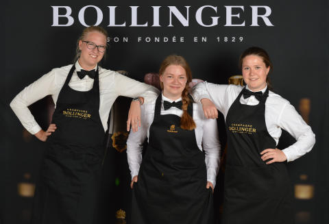 Emma Ziemann, Tina Johansson och Ellen Franzén – årets finalister i Lily Bollinger Award