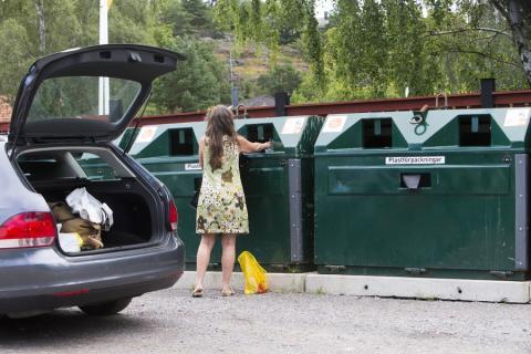 Fler förpackningar lämnade till återvinning 2019