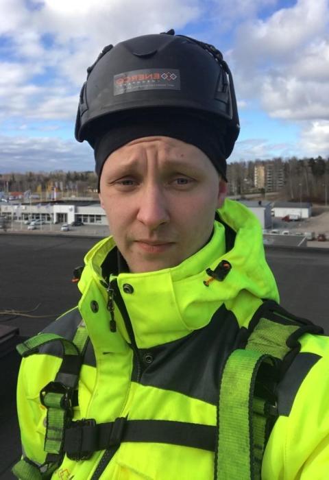 Simon Lamminheimo prisas för sitt säkerhetsarbete