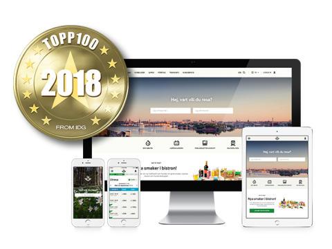 SJs webbsajt utsedd till Sveriges bästa