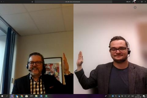 Wesafe och Cellip inleder partnerskap inom Microsoft Teams telefoni.