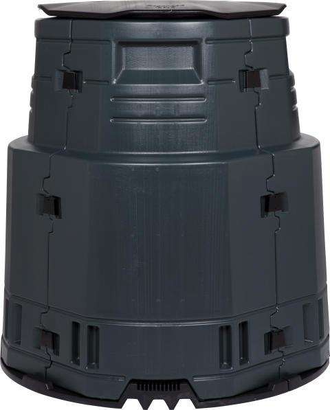 Kompostbehållare Master  375 l svart