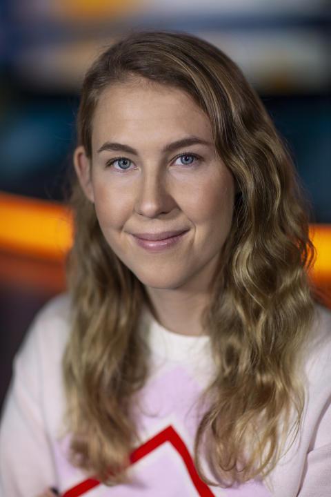 Lilla Aktuellt: Malin Andersson, nominerad i kategorin Årets Röst 2018