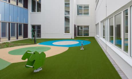 Lekfulla utemiljöer för barnen