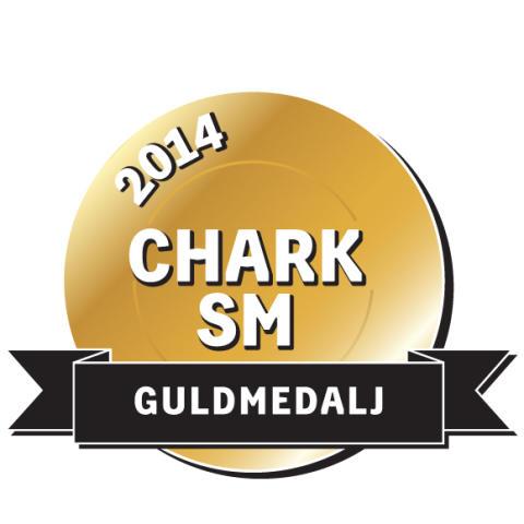 Guldmedalj Chark-SM 2014