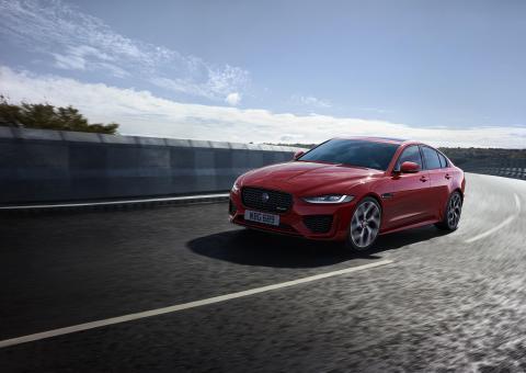 Jaguar XE i helt nya kläder