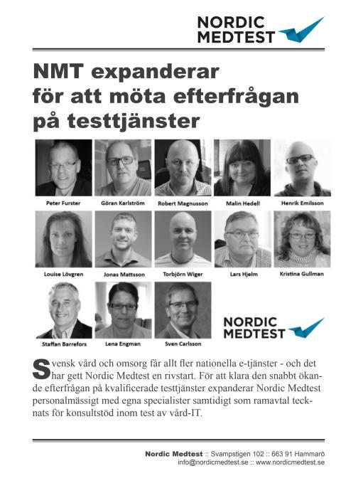 Referensblad: Nordic Medtest expanderar för att möta efterfrågan på testtjänster