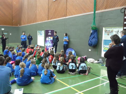 England Ace Inspires Pupils Ahead of UEFA Championship