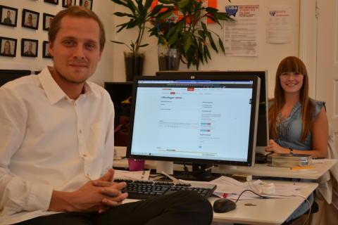TUBA har fået ny kommunikationspraktikant og community manager