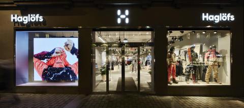Haglöfs öppnar ny flaggskeppsbutik i Stockholm