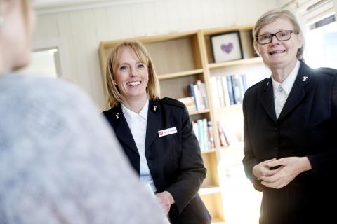 Frelsesarmeen åpner Safe House