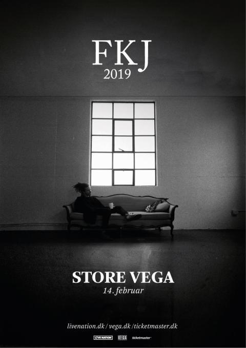 FKJ (French Kiwi Juice) kommer tilbage til Danmark - denne gang i Store VEGA til februar.
