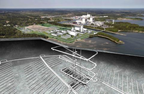Studerar uran i bentonit för slutförvaring av kärnavfall