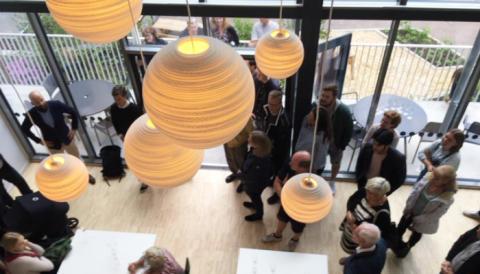 Alla 132 lägenheter i Riksbyggens unika Brf Viva inflyttade