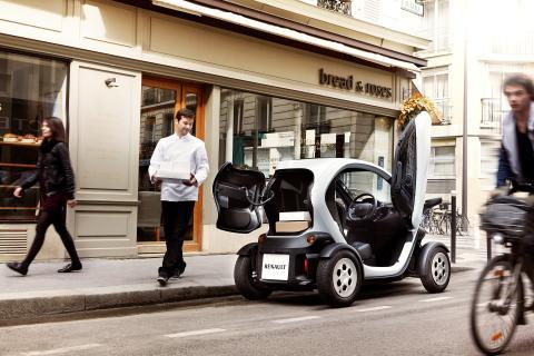Byens sejeste budbringer - Renault Twizy nu som van