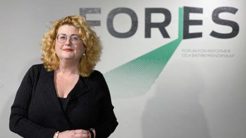 Ulrica Schenström ny vd för den gröna och liberala tankesmedjan Fores