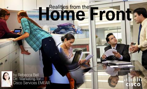 How can I trust you if I can't see you? Realities from the Home Front