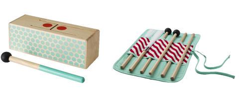 IKEA återkallar LATTJO trumpinnar och LATTJO slaginstrument som en försiktighetsåtgärd på grund av kvävningsrisk