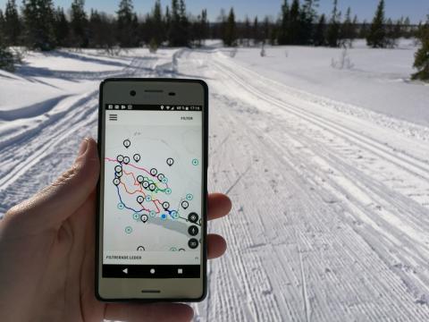 Ppremiär för Lofsdalens App