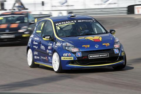 Andreas Wernersson på väg mot pole position i Göteborg