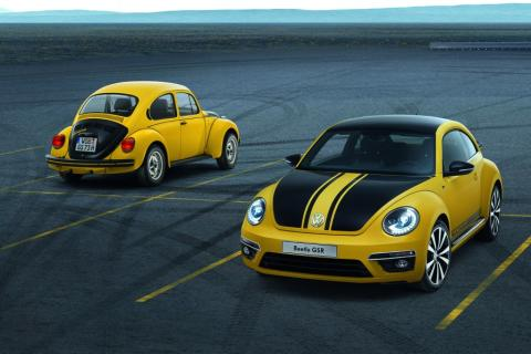 Only 3,500 worldwide: Volkswagen presents rare Beetle GSR bug in Chicago