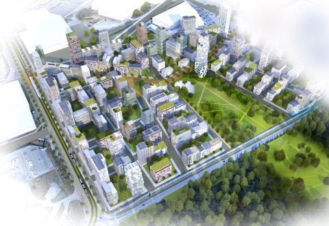 KF Fastigheter planerar för nya bostäder i Kungens kurva