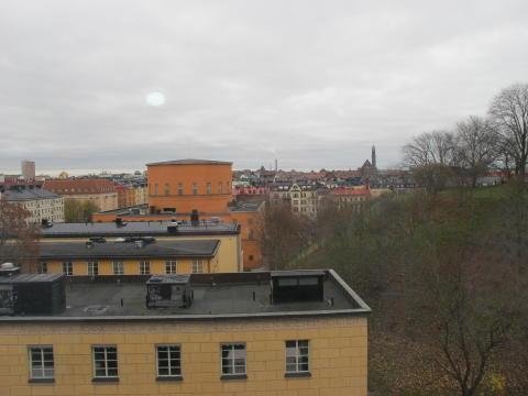Utsikt från Blodcentralen Odenplan
