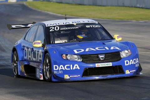 Andersson och Dacia Dealer Team vill avsluta STCC med ett toppresultat