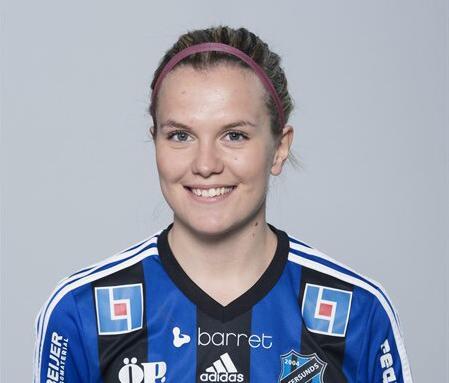 Hammarby Damfotboll värvar Frida Sjöberg