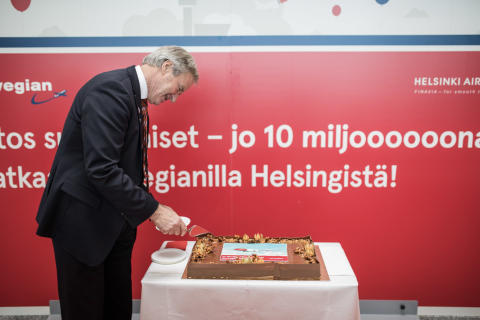 Bjørn Kjos in Helsinki, lokakuu 2016